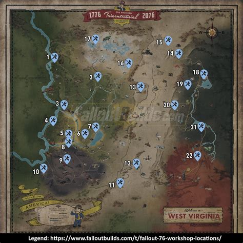 fallout  workshop locations list   workshops