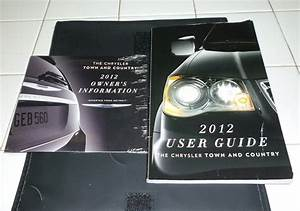 2012 Chrysler Town Country User Guide Owners Manual Set