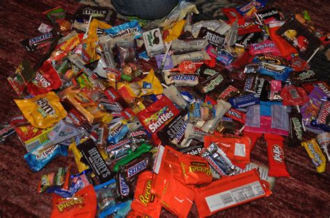 halloween candy pile festival collections