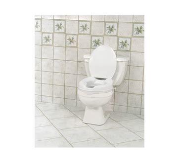 siège toilette surélevé siège de toilette surélevé avec couvercle aquasense