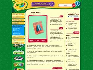 Know Noses Lesson Plan For 1st