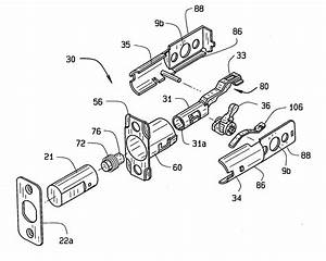 Image Deadbolt Lock Parts Diagram