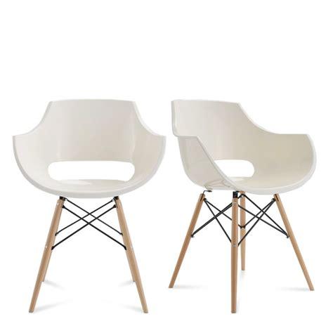 lot de chaises design chaise designer banche skoll pi 232 tement bois by drawer
