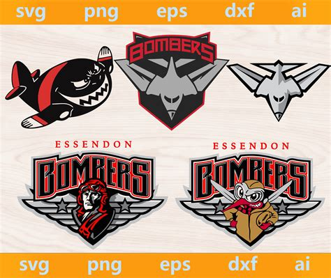 Ben rutten's bombers had been better than that, but three losses by less than a goal meant the progress. Essendon Bombers logo, Essendon Bombers svg, by BigSvgBundle on Zibbet