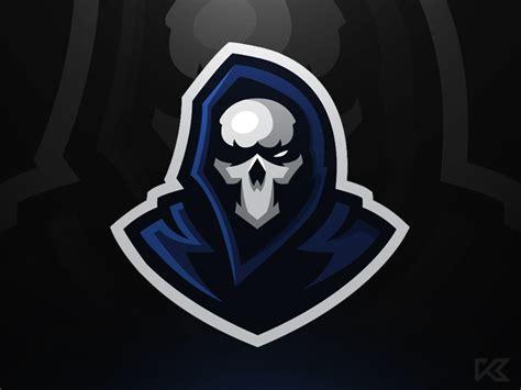 grim mascot logo  koen dribbble dribbble