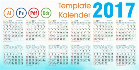 template kalender  cdr corel draw fadhil design