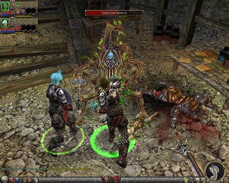 dungeon siege series dungeon siege 2 характеристики и описание игры dungeon