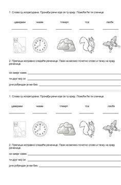 prvi razred images worksheets school worksheets