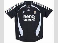 Camisetas de Real Madrid CF Foto de la camiseta visitante