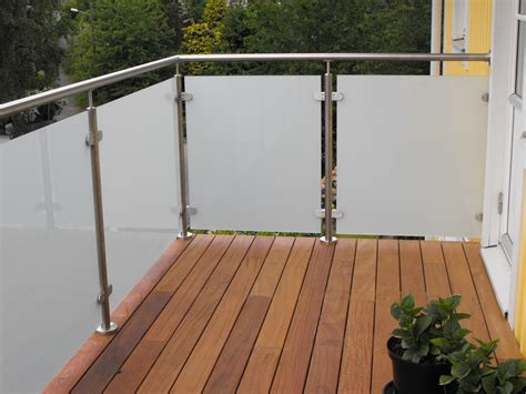 Diameter 50.8mm Glass Balustrade Post Handrail Stainless