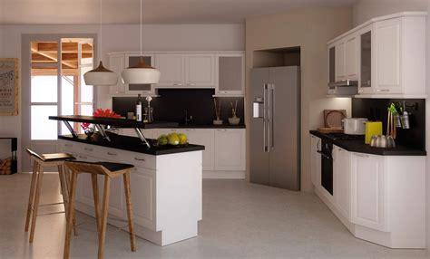 cuisines avec ilot nouveau cuisine avec ilot table luxe design 224 la maison