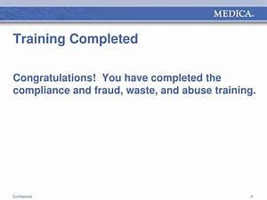 Ppt - Compliance And Fraud  Waste  And Abuse Awareness Training Powerpoint Presentation