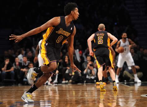 nick young   los angeles lakers  brooklyn