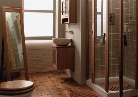 bathroom hardwood flooring ideas wood in your bathroom why not