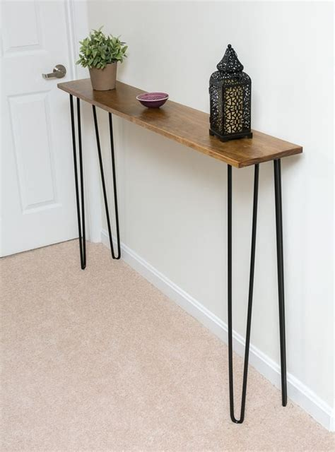 very narrow sofa table 34 stylish console tables for your entryway digsdigs