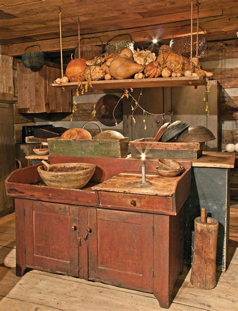 primitive kitchen cabinets 8 ways to design a kitchen for an early house house 1654