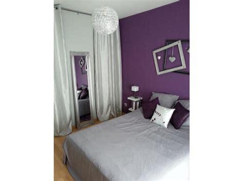 chambre grise et mauve photo ambiance chambre fille gris et violet