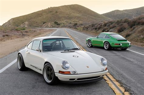 singer porsche singer 911 in white photo gallery autoblog