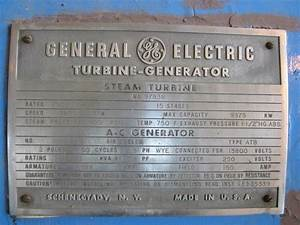 7500 KW GENERAL ELECTRIC St - 189774 For Sale Used