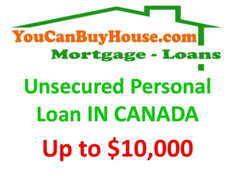 Unsecred Personal Loan In Canada
