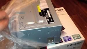 Jvc Kw R500 Unboxing