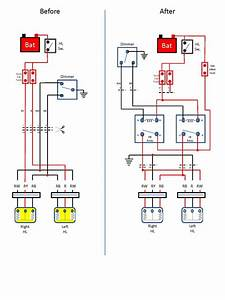 U0026 39 75 280z Headlight Relay Upgrade - Electrical