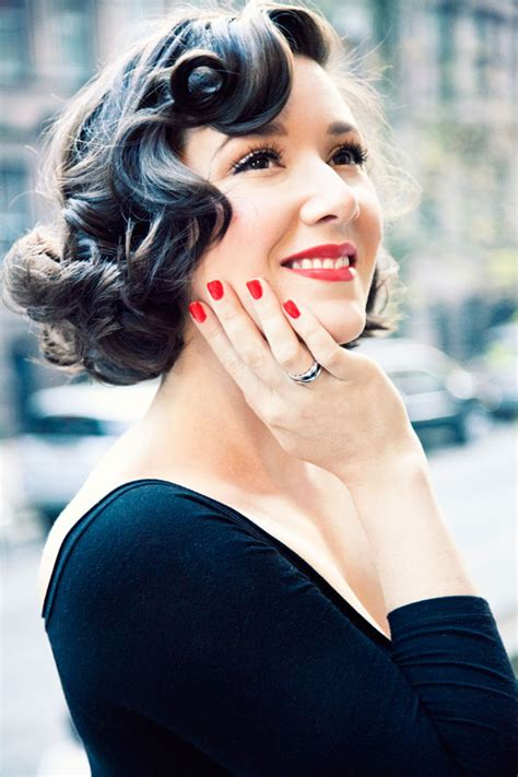 Curly Retro Hairstyles by Retro Curly Hairstyles Capellistyle It