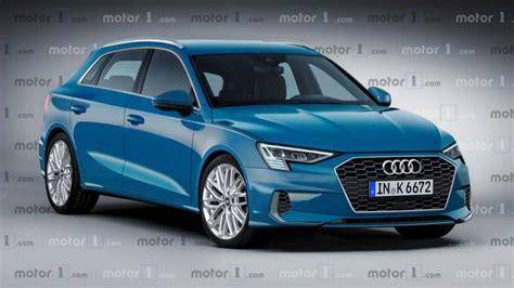 Audi Rs3 Sportback 2020 by Rendering Audi A3 Sportback 2020