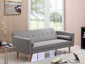 Clic Clac 1 Place : canape clic clac banny 3 places gris clair 69684 ~ Teatrodelosmanantiales.com Idées de Décoration