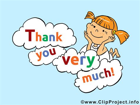 Free Thank You Clipart Clip Thank You Much Clipart