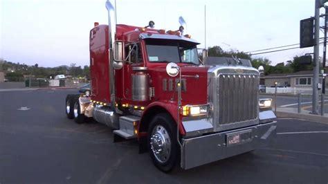 peterbilt and kenworth 1997 peterbilt 379 optimus prime transformer semi truck