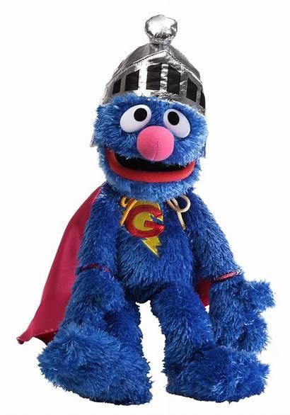 Grover Super Plush Sesame Street Toy Helmet