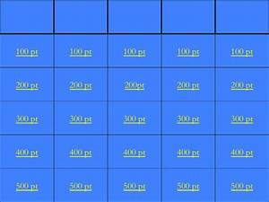 blank jeopardy template download free premium With microsoft powerpoint jeopardy game template
