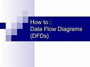Data Flow Diagrams For Dummies