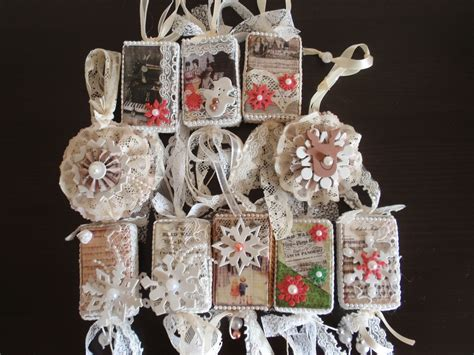 shabby chic ornaments christmas ornaments with vintage images so shabby chic tutorial youtube