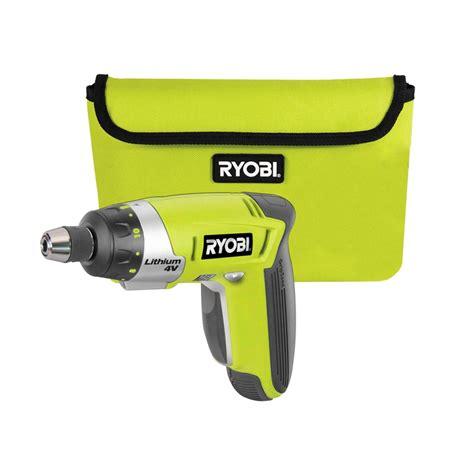 how to make a l cordless ryobi 4v li ion cordless screwdriver bunnings warehouse