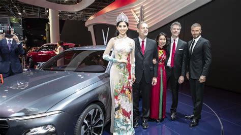 Vinfast Launches At Paris Motor Show
