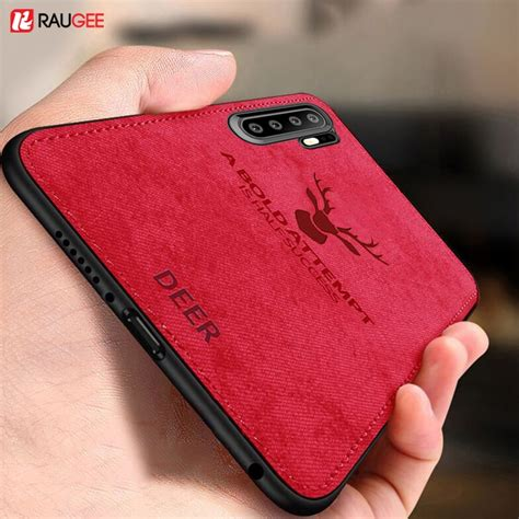 raugee soft case  huawei p pro cover tpu silicone