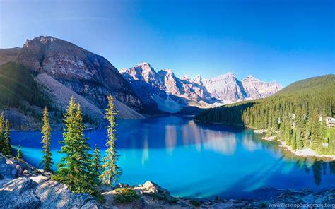 Lakes: Moraine Lake Mountain Nature Fun Forest Cool ...