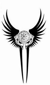 Tatouage Valkyrie Nordique : norse valkyrie with compass viking tattoos pinterest tatouages tatouage nordique et id e ~ Melissatoandfro.com Idées de Décoration