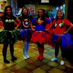 DIY Superhero Tutu Costumes for Women