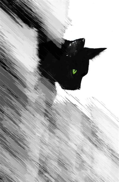 black cat abstract 2 by emanuel96 on deviantart