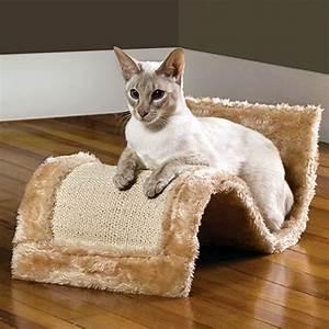Wavy, Cat, Scratcher, Lounge, U2013, Curved, Cat, Scratching, Furniture, U2013, Cat, Scratchers