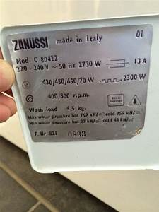 My New Zanussi Fl812