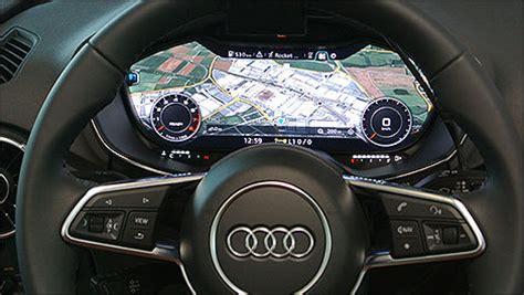 Audi New Mmi Virtual Cockpit Car News Auto