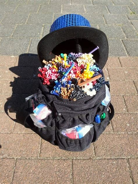 balloon bag balloon twister kits aprons  busking