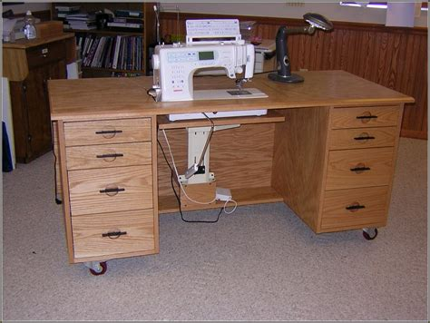 Sewing Desk Plans Free by Sewing Machine Cabinet Plans Free Home Design Ideas