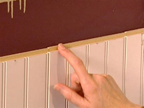 Best Adhesive For Wainscoting by Wainscoting Installation How Tos Diy