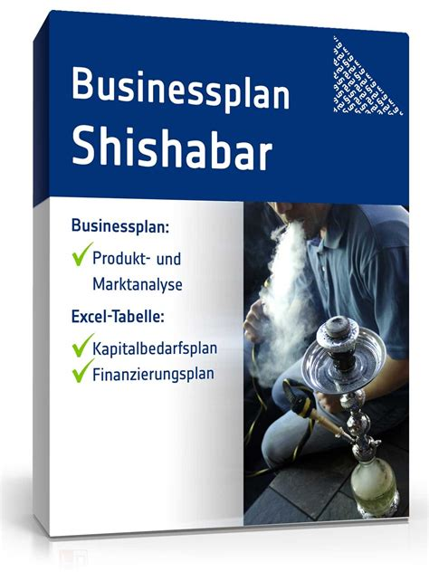 businessplan shisha bar muster aus profihand zum