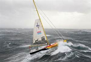 Velux 5 Oceans Battle Savage Conditions In Bay Of Biscay